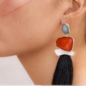 Tassel earrings FRINGE FASHION STYLE 2018